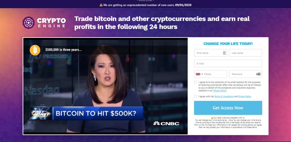 CryptoEngine Screenshot