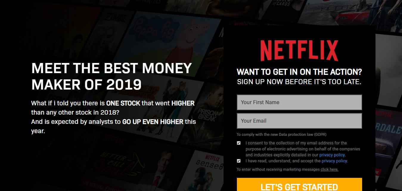 Netflix Revolution Scam