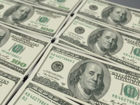 Dollar Retains Gains while Euro Declines