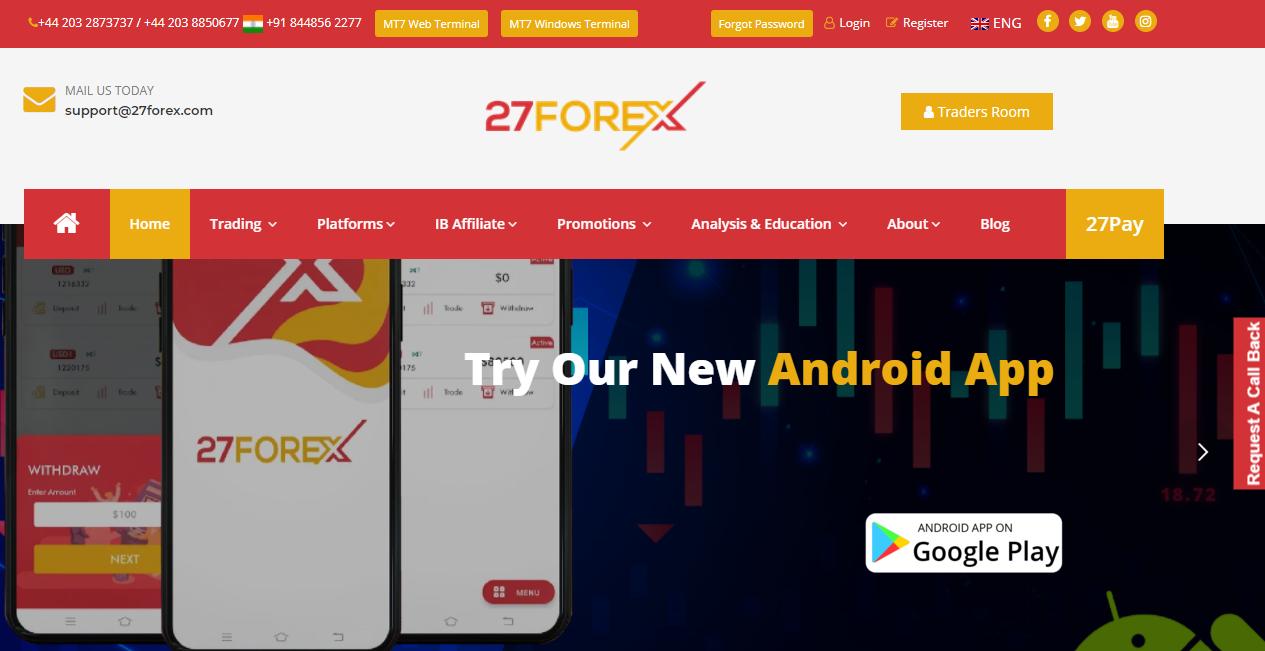 27forex website