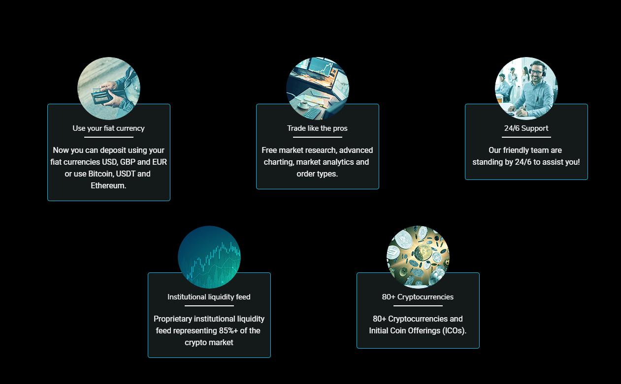 Tradingcrypto main benefits