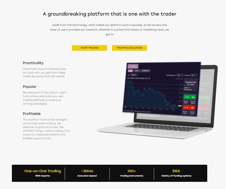 Trustpac platform