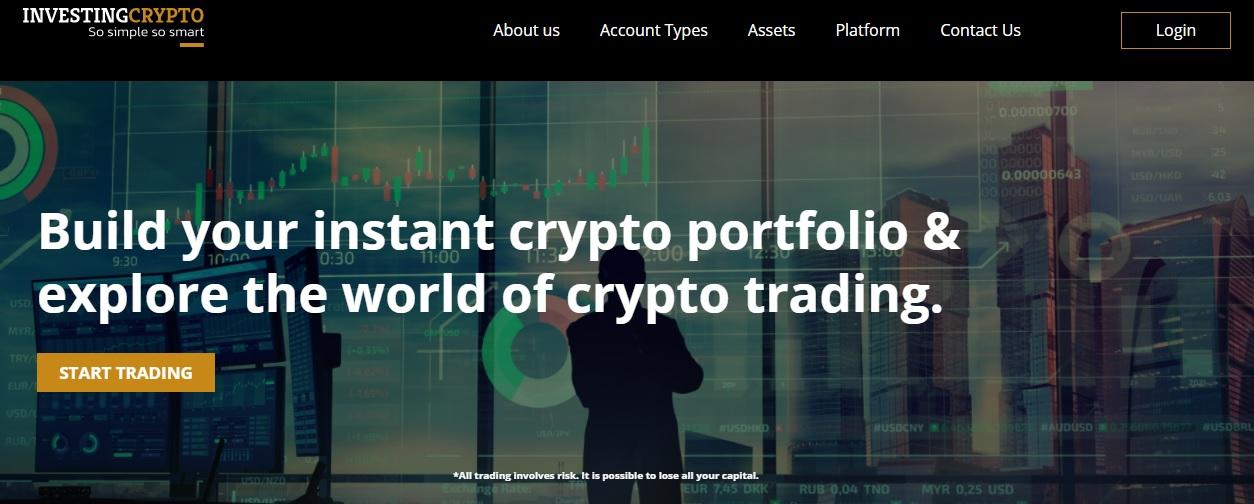 InvestingCrypto website