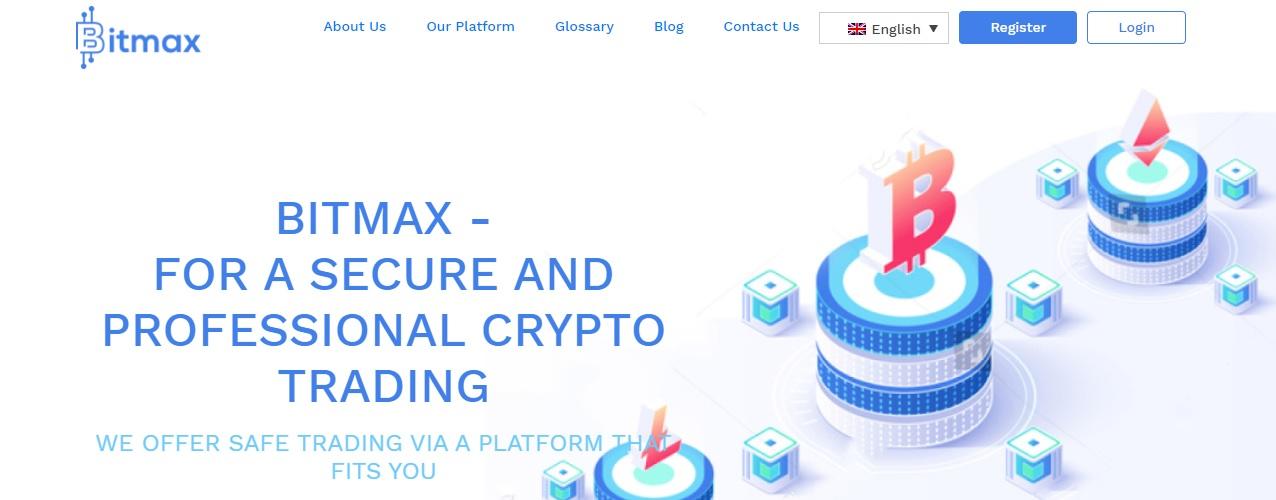 Bitmax website