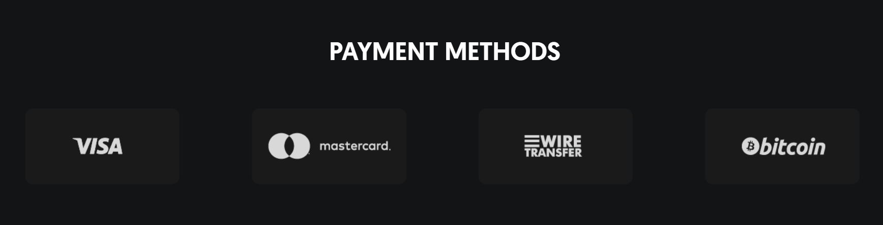 Global Solution payment methods