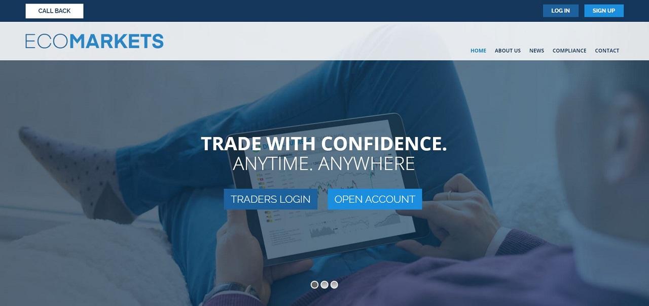 EcoMarkets website