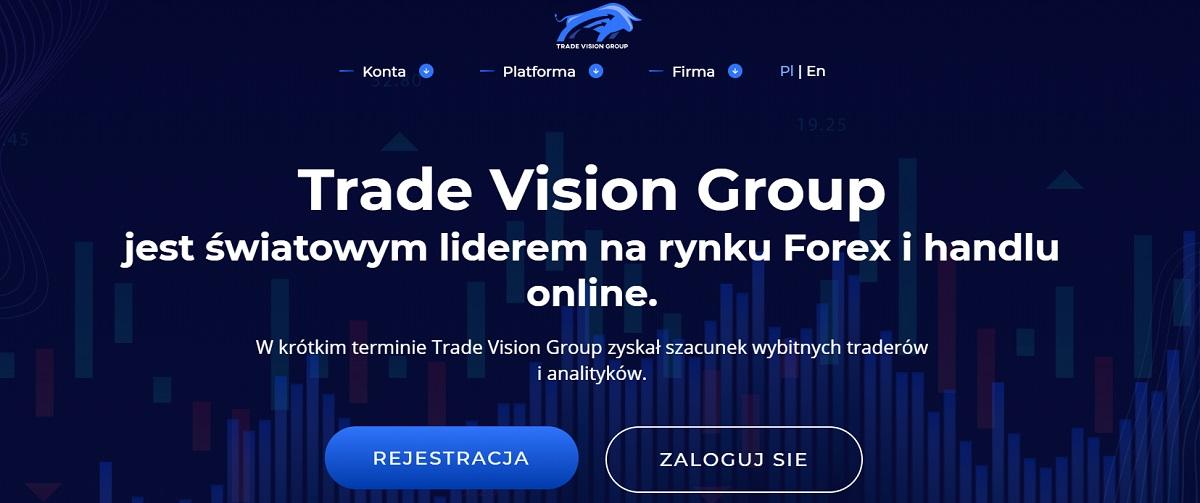 TradeVision Group strona główna