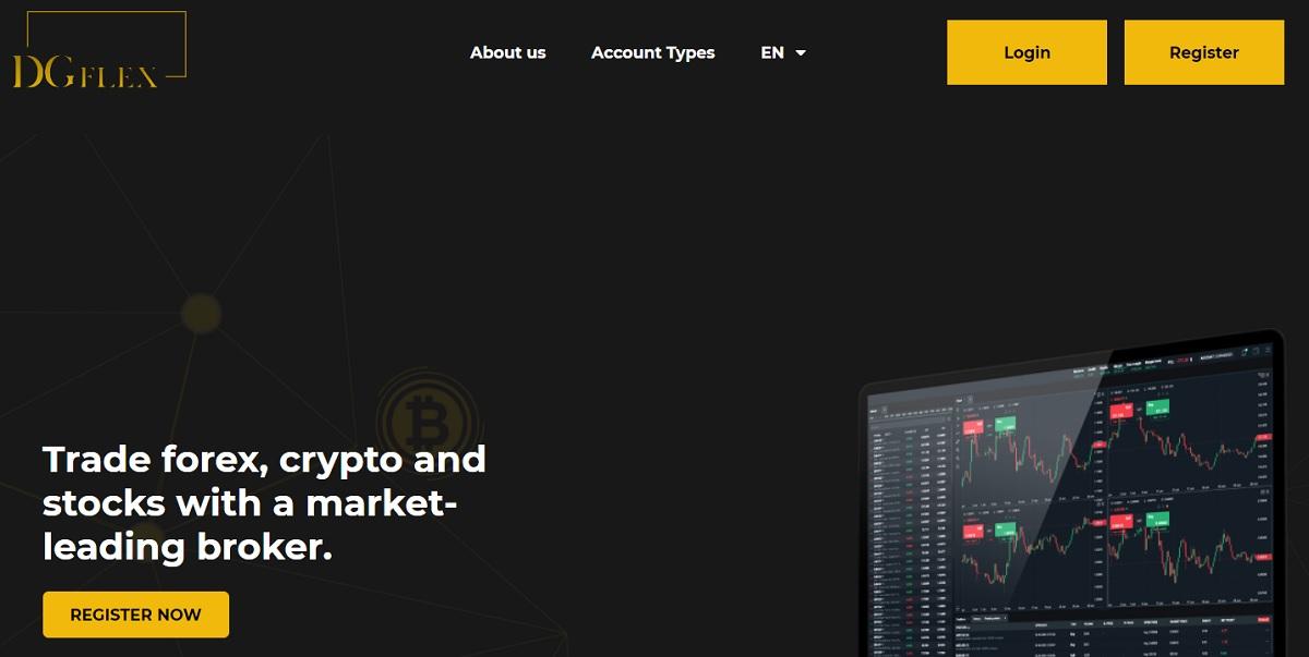 DG Flex home page