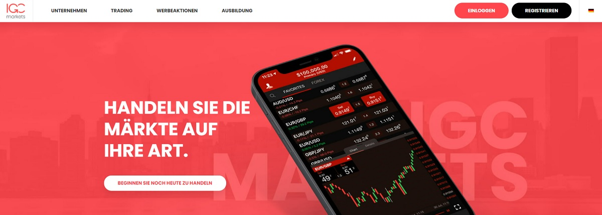 Startseite IGC Markets