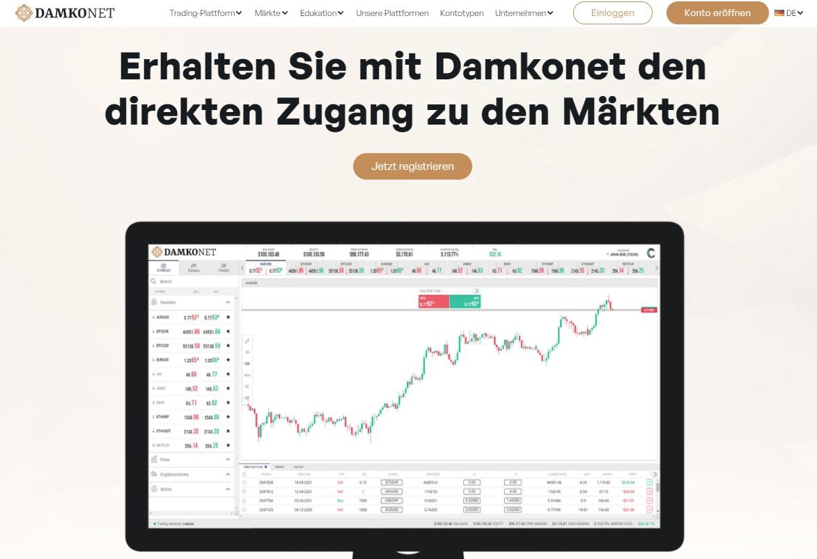 damkonet home page