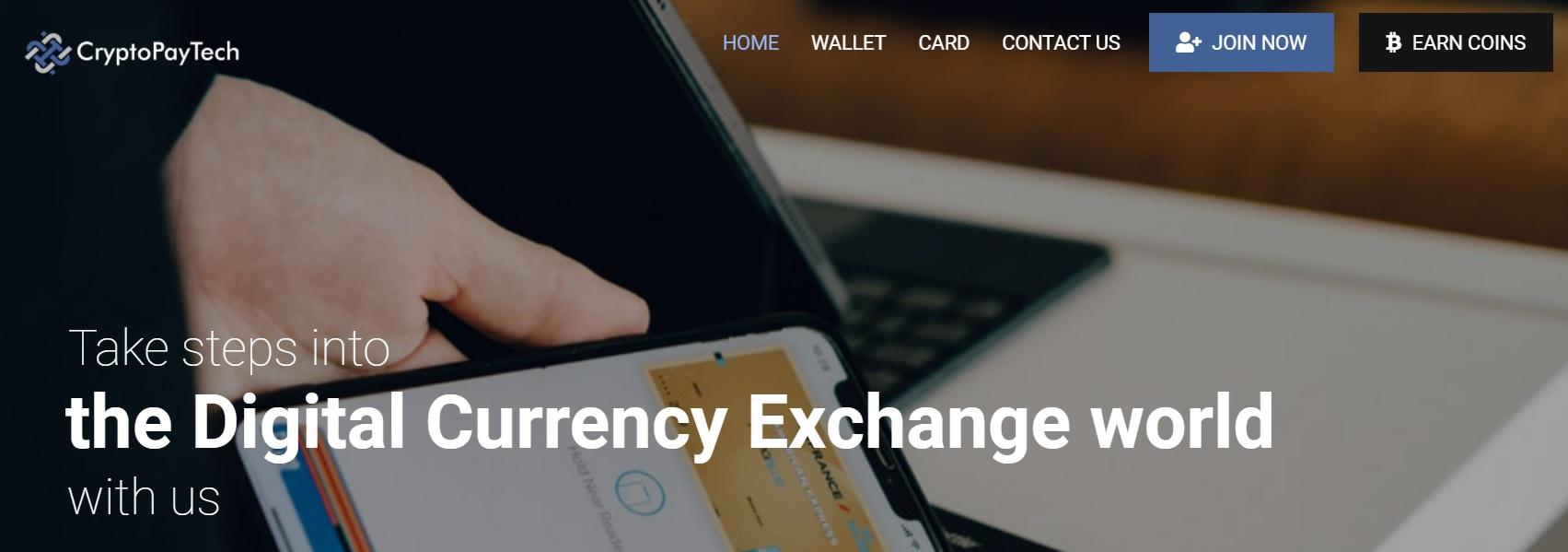 CryptoPayTech Trading Platform