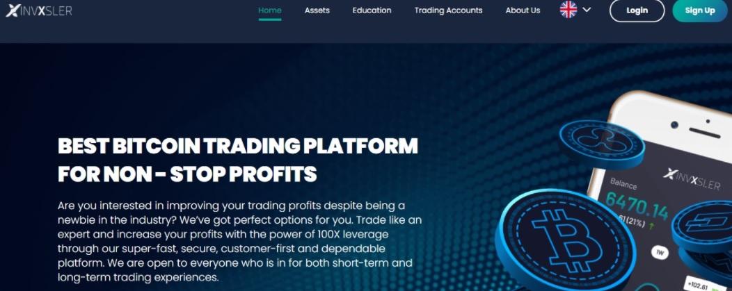 Invxsler homepage